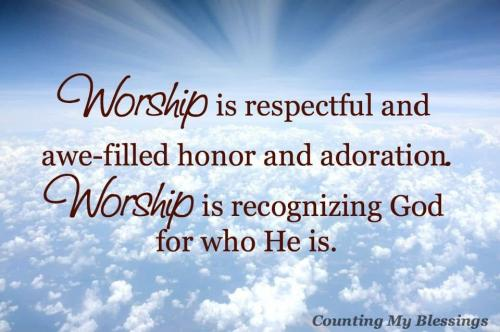 Worship Is Respectful